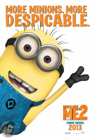 English language cinema in Rome: Despicable Me 2