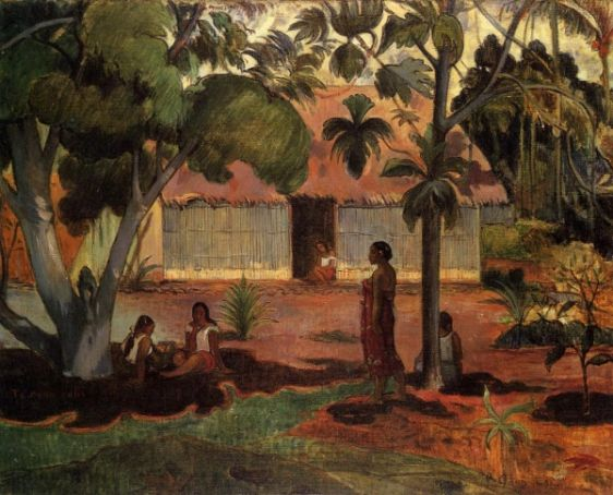 Gauguin painting on loan in Rome