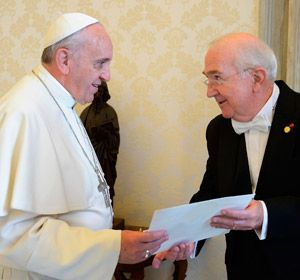 New US ambassador to the Holy See