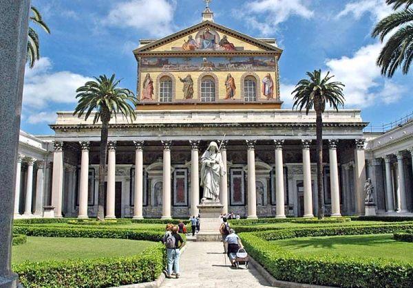 San Paolo Basilica's tour with FiR