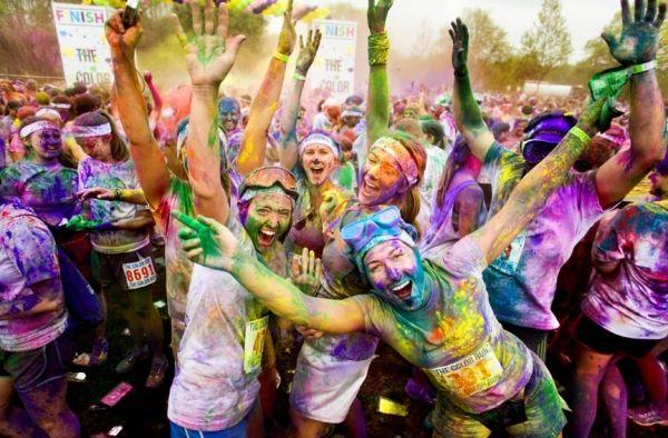 Color Run comes to Rome