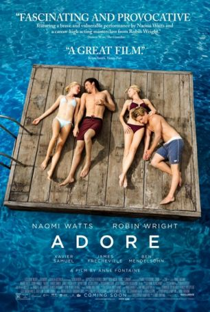 English language cinema in Rome: Adore (Two Mothers)