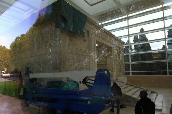 Leaks at the Ara Pacis