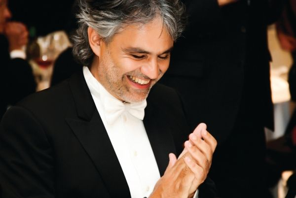 Andrea Bocelli gives charity concert in Rome