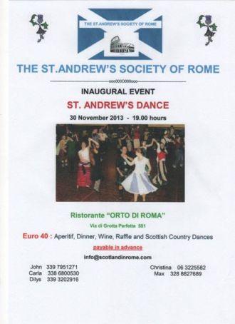 St Andrew's Society of Rome