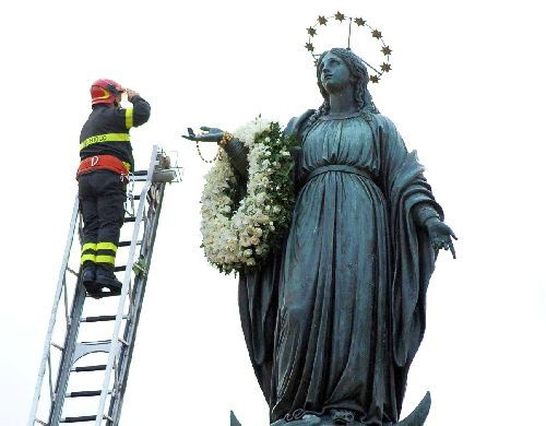 Feast of the Immaculate Conception in Rome
