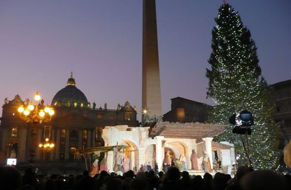 Christmas crib season in Rome