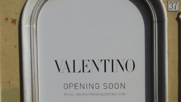 New Valentino megastore in Rome