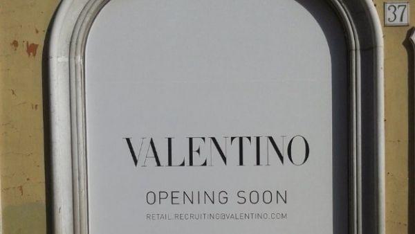 New Valentino megastore in Rome