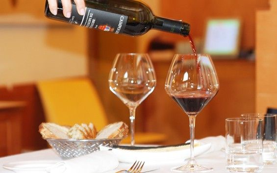 Wine tasting at Trattoria S. Teodoro