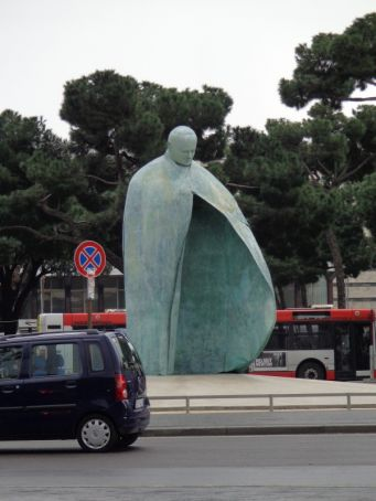 Rome JPII statue voted among world's ugliest monuments
