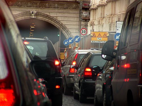 New traffic plan for Rome