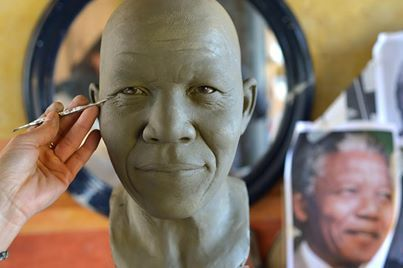 Mandela immortalised in Rome wax museum