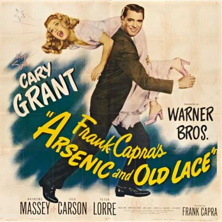 Arsenic and Old Lace showing at the Filmstudio