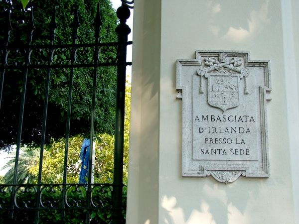 Ireland to re-open embassy to Holy See