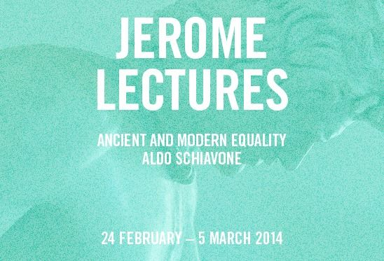 Jerome Lectures at American Academy in Rome