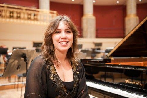 Gabriela Montera debut in Rome