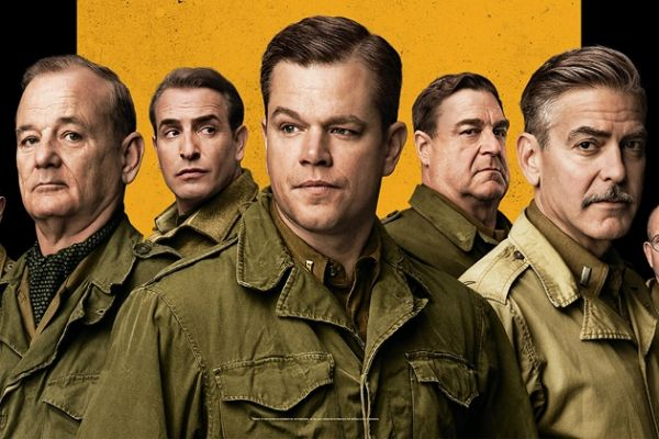 Monuments Men showing in Rome