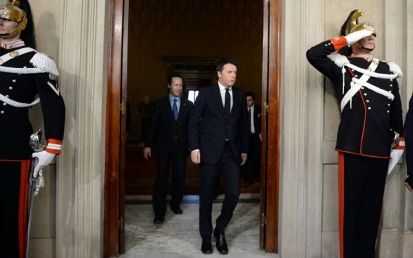 Renzi asked to form new government