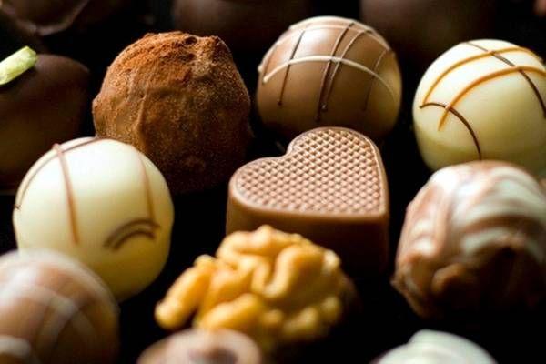 Chocolate festival in Rome