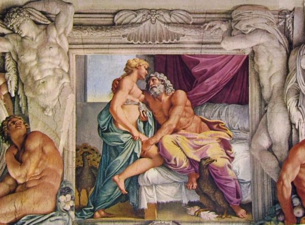 Restoration of Carracci frescoes at Rome's French embassy