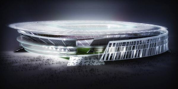 AS Roma unveils new stadium design