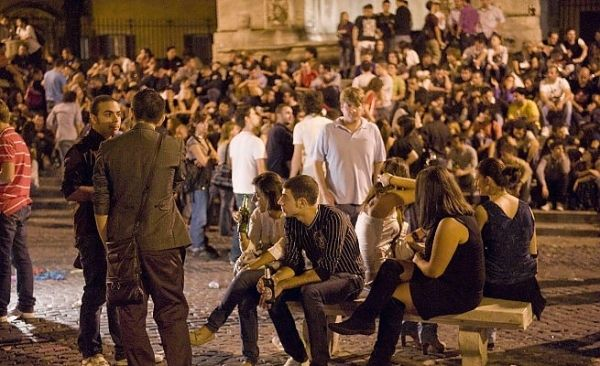 Growing violence in Trastevere