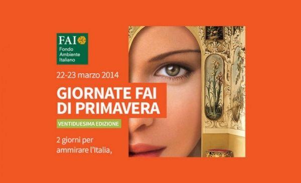 FAI Spring Open Days across Italy