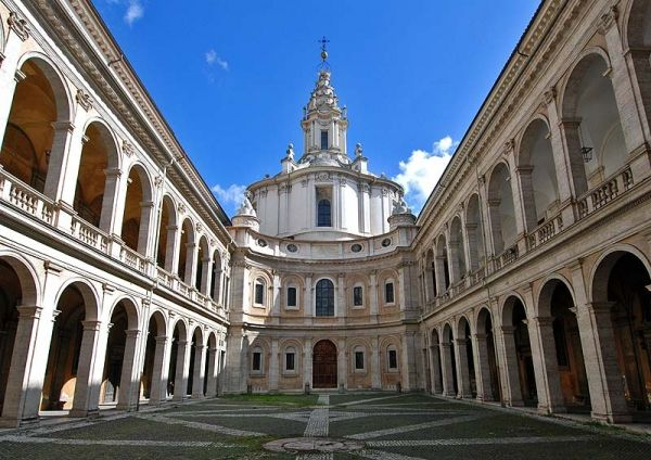 Walking tour with FiR, rione Sant'Eustachio and Caravaggio.