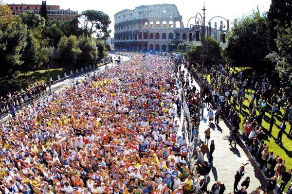 Rome marathon celebrates 20 years