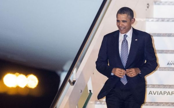 Tight security in Rome for Obama visit