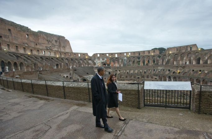Obama to visit Colosseum