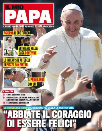 Pope Francis magazine launches in Rome