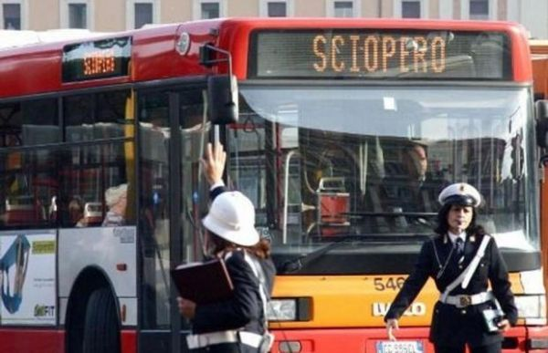 Public transport strike in Rome