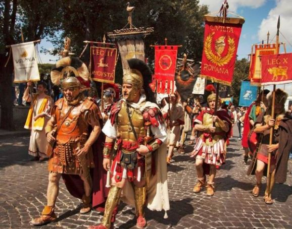Rome's celebrates 2,767th birthday