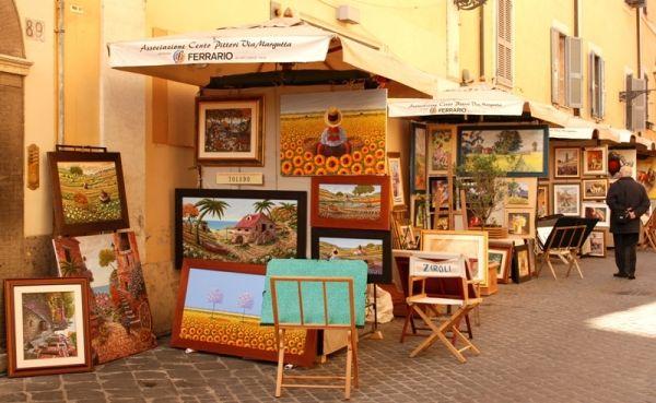 100 painters on Via Margutta