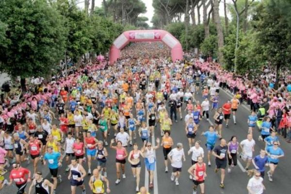 Komen Race for cancer awareness in Rome