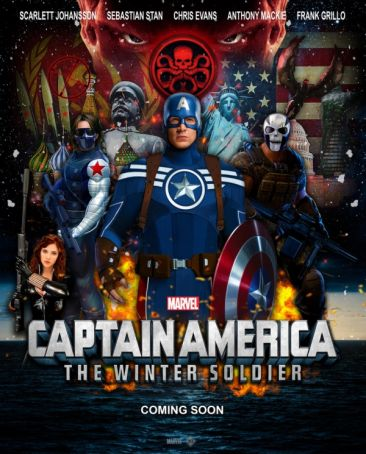 Captain America: The Winter Soldier showing in Rome