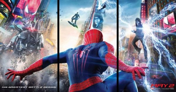 The Amazing Spider-Man 2 showing in Rome