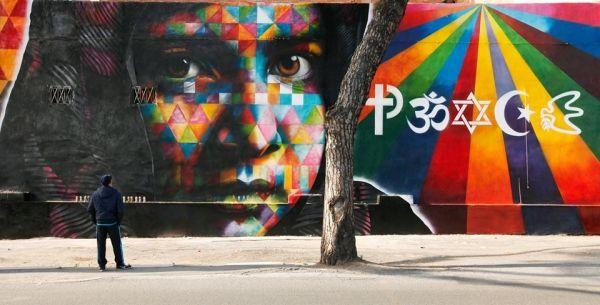 Eduardo Kobra: Peace