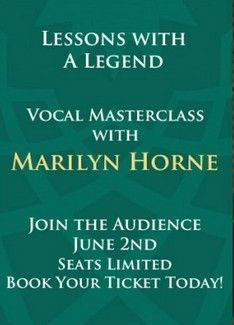 Vocal Masterclass with the Legendary Marilyn Horne