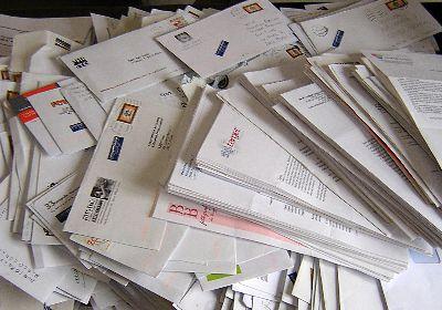Rome postman hides undelivered letters