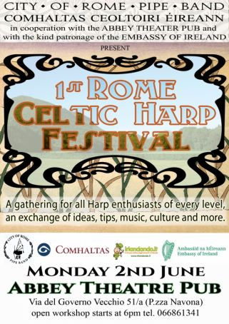 First Rome Celtic Harp Festival