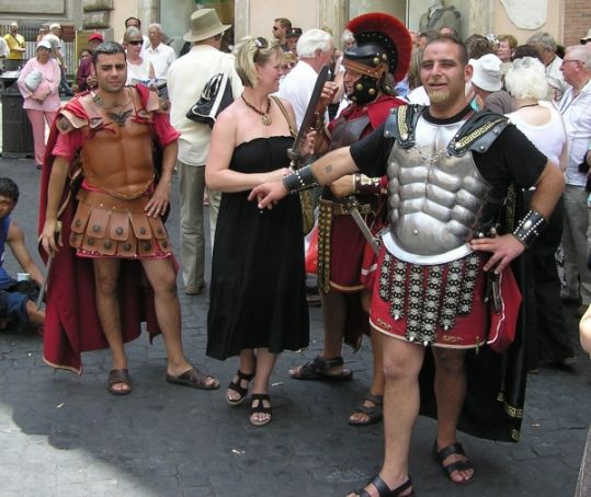 Rome tour guides deal with unusual questions