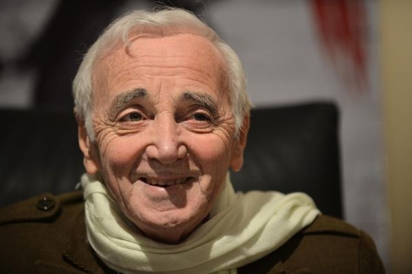 Charles Aznavour comes to Rome