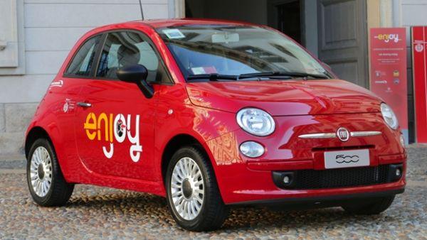 Enjoy cars come to Rome