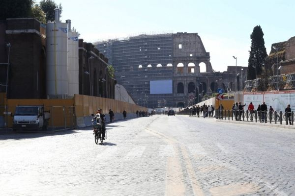 Rome becomes more pedestrianised