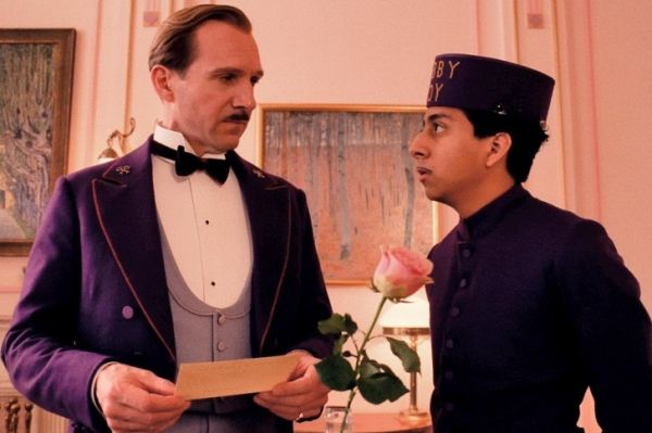 The Grand Budapest Hotel showing in Rome