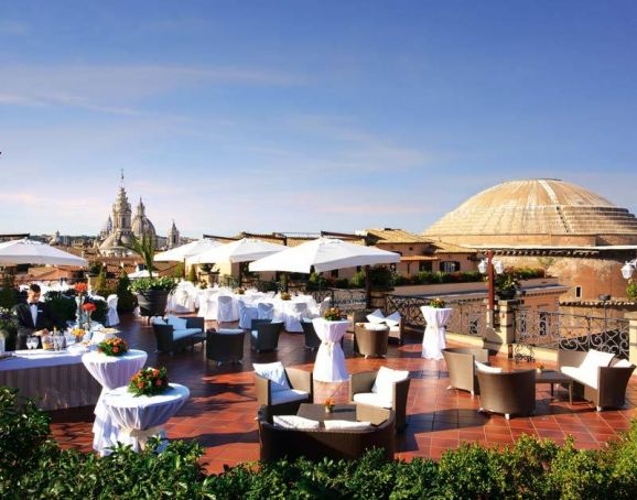 Top Ten Al Fresco Dining In Rome Wanted In Rome