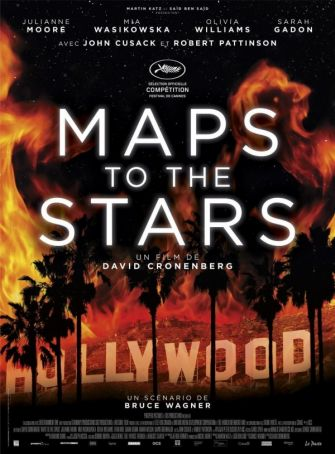 Maps to the Stars showing in Rome